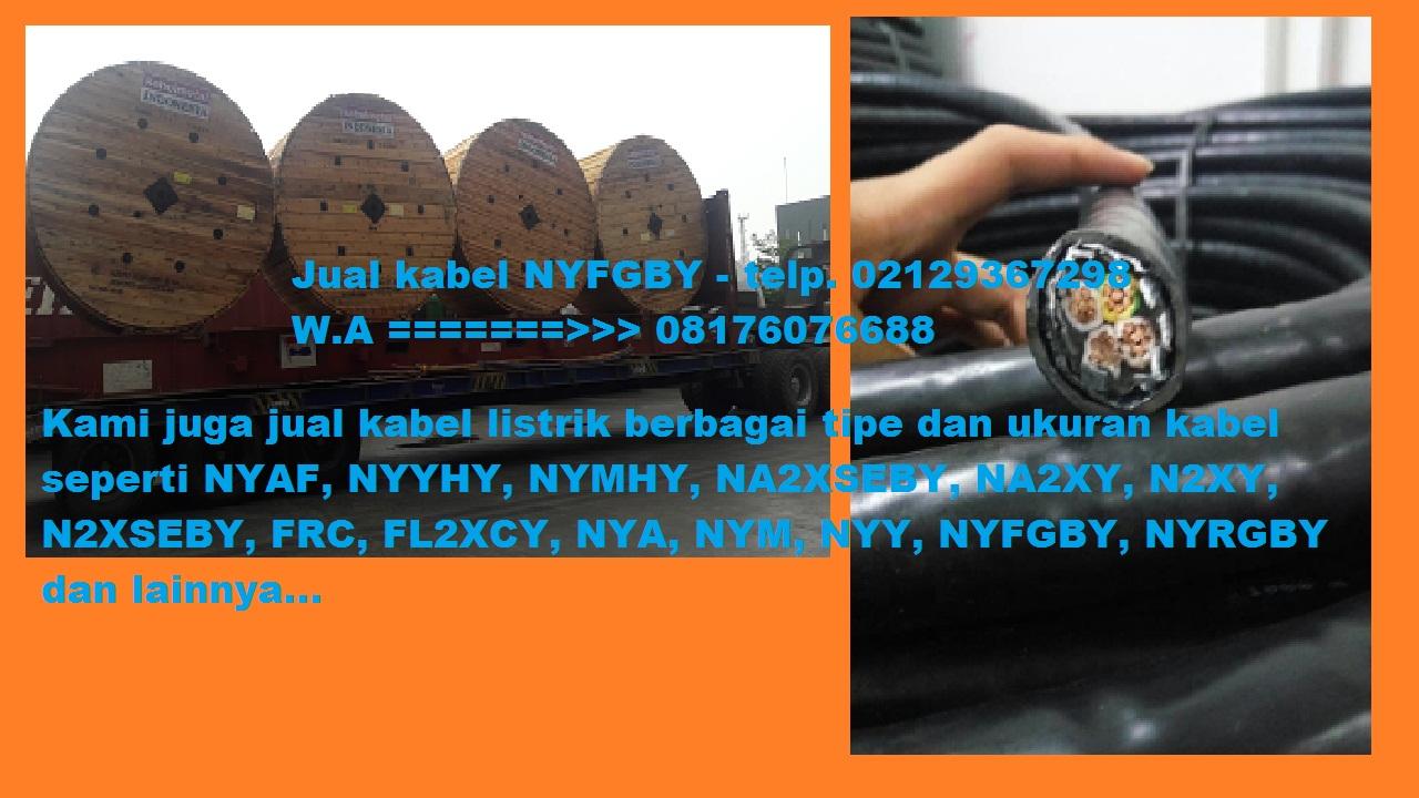 Daftar Harga Kabel NYFGBY Murah